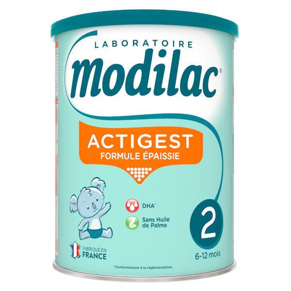 Modilac Actigest Lait 2eme Age 800g