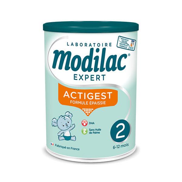 Modilac Expert Actigest Lait 2eme Age 800g