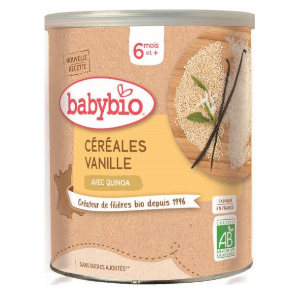 Babybio Céréales Vanille avec Quinoa dès 6 mois 220g