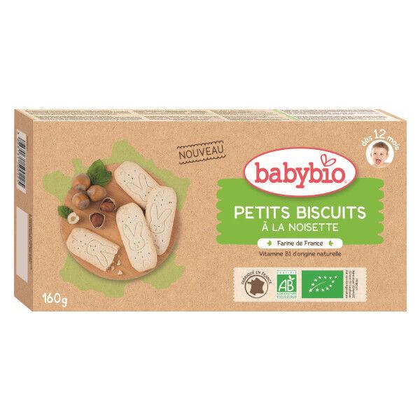 Babybio Petits Biscuits à la Noisette dès 12 mois 160g
