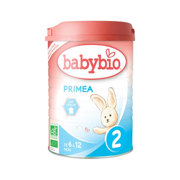 Babybio Primea 2ème âge dès 6 mois 900g