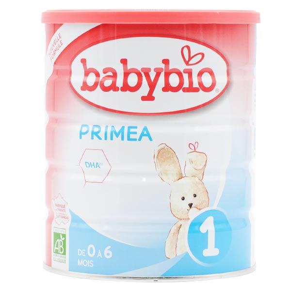 Babybio Lait Primea Lait de Vache 1er Âge Bio 800g