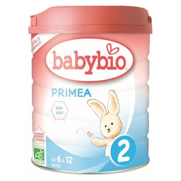 Babybio Primea 2ème âge dès 6 mois 800g