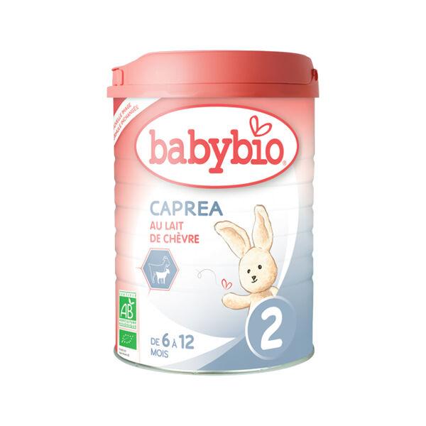 Babybio Caprea Lait de Chèvre 2ème âge dès 6 mois 900g