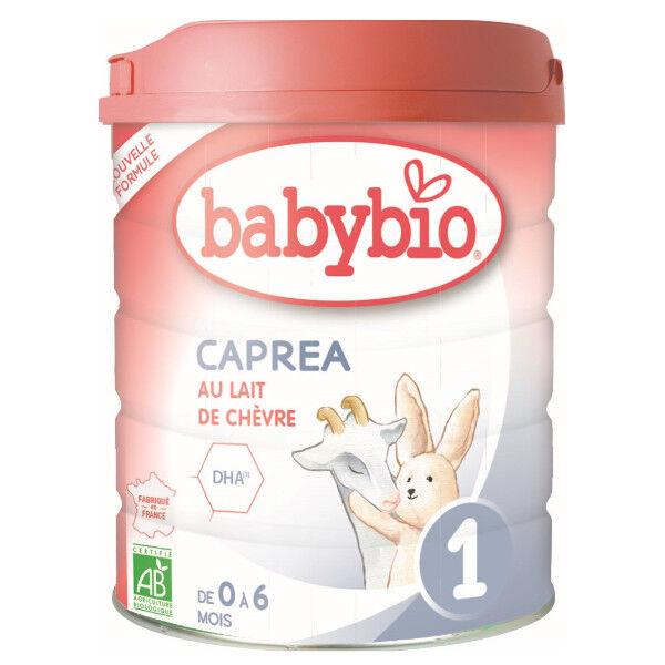 Babybio Lait Caprea Lait de Chèvre 1er Âge Bio 800g