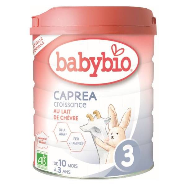 Babybio Caprea Lait de Chèvre 3ème Âge Bio 800g