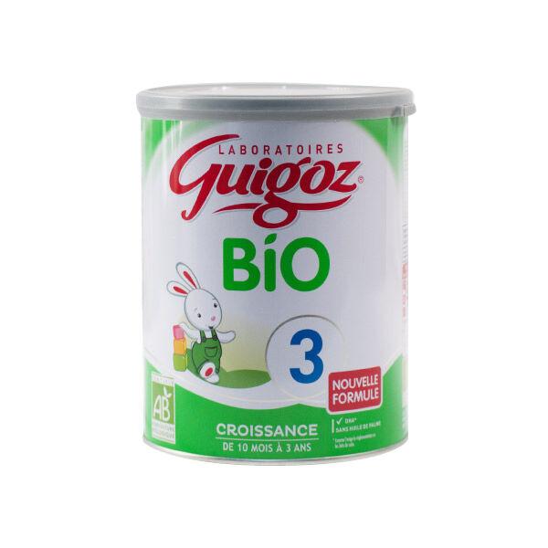 Guigoz Bio Lait Croissance 3ème Age 800g
