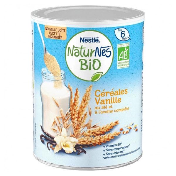 Naturnes Nestlé Naturnes Céréales Vanille Bio 240g