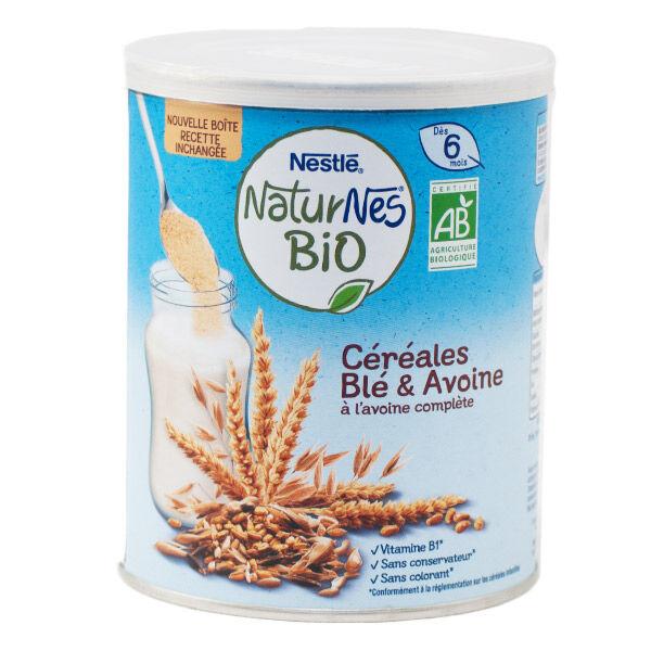 Nestlé Naturnes Céréales Blé & Avoine Bio 240g