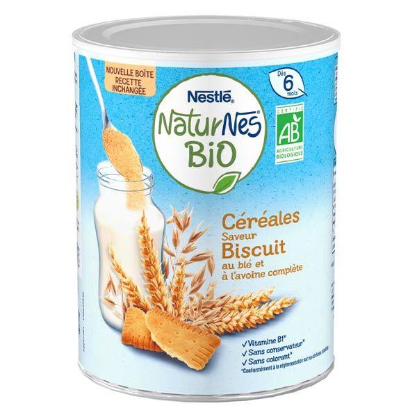 Naturnes Nestlé Naturnes Céréales Biscuités Bio 240g