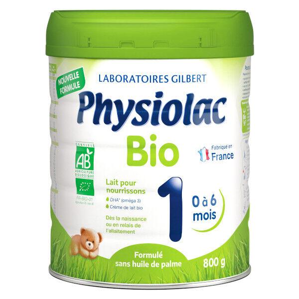 Physiolac Bio Lait 1er âge 800g