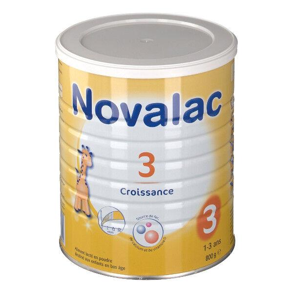 Novalac Lait de Croissance 3ème âge 800g