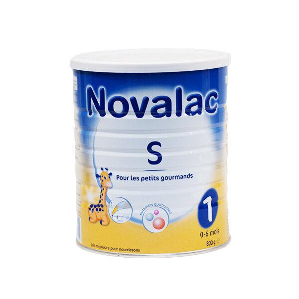Novalac Lait S 1er âge 800g