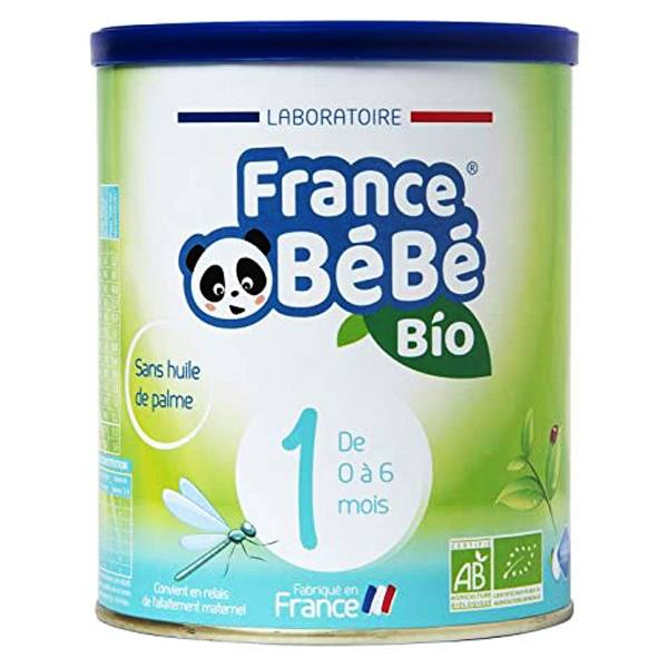 France Bébé Bio Lait 1er Age 400g