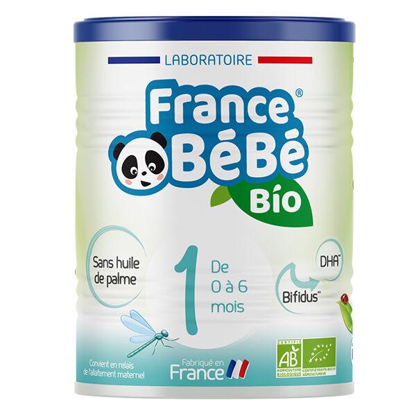 France Bébé Nutrition France Bébé Bio Lait 1er Âge 400g