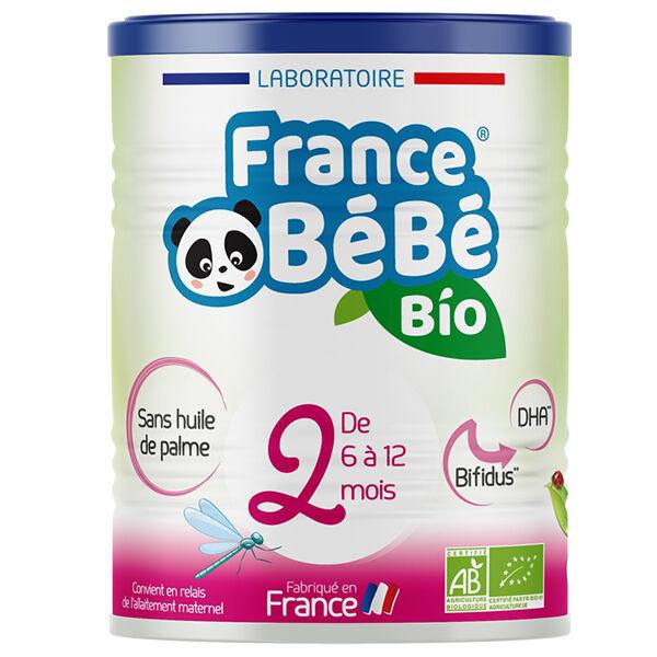 France Bébé Nutrition France Bébé Bio Lait 2ème Âge 400g