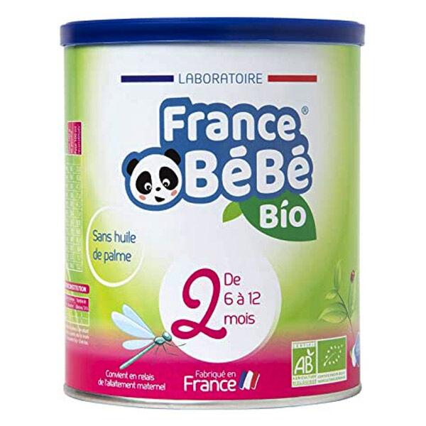 France Bébé Bio Lait 2ème Age 400g