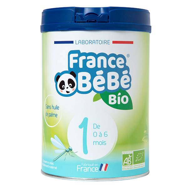France Bébé Bio Lait 1er Age 800g