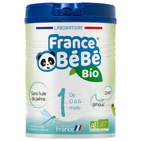 France Bébé Nutrition France Bébé Bio Lait 1er Âge 800g