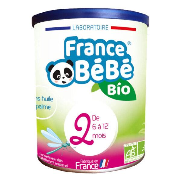 France Bébé Bio Lait 2ème Age 800g