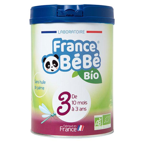 France Bébé Bio Croissance Lait 3ème Age 800g