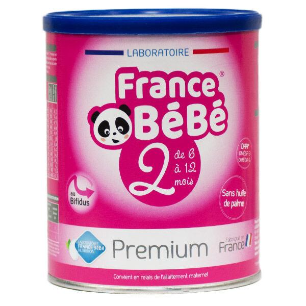 France Bébé Nutrition France Bébé Bio Premium Lait 2ème Age 400g