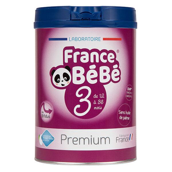 France Bébé Nutrition France Bébé Premium Croissance Lait 3ème Age 800g