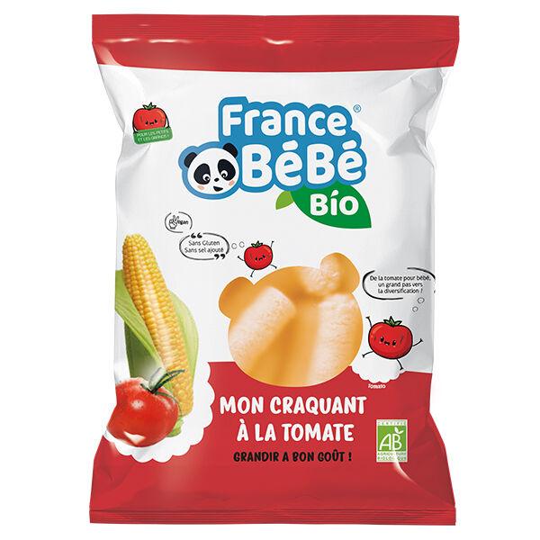 France Bébé Nutrition France Bébé Bio Mon Croquant Maïs Tomate 20g