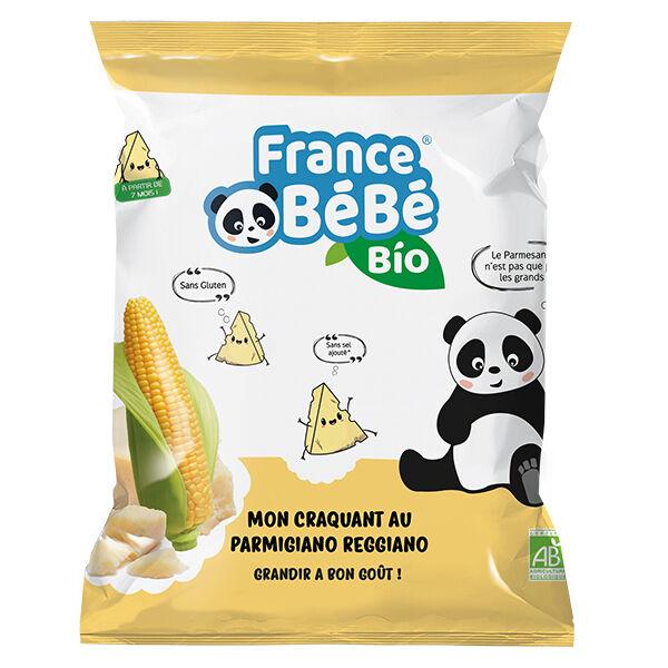 France Bébé Nutrition France Bébé Bio Mon Croquant Maïs Parmesan 20g