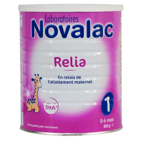 Novalac Lait Relia 1er Âge 800g