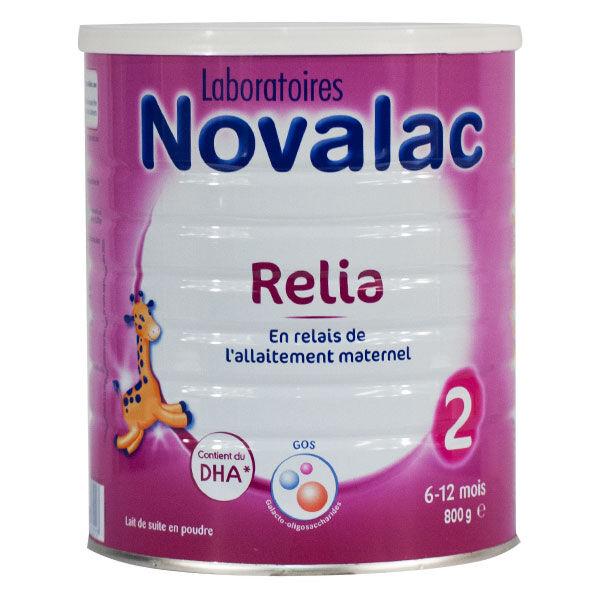 Novalac Lait Relia 2 Âge 800g