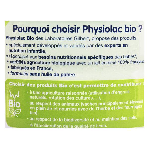 Physiolac Bio Lait Croissance 800g