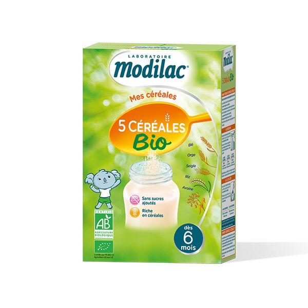 Modilac 5 Céréales Bio 230g