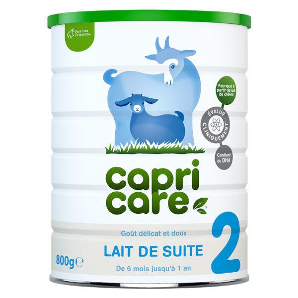BioGaia CapriCare Lait de Chèvre 2ème Âge 800g