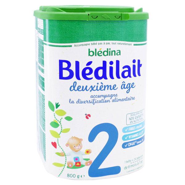 Blédina Blédilait 2ème Age 800g