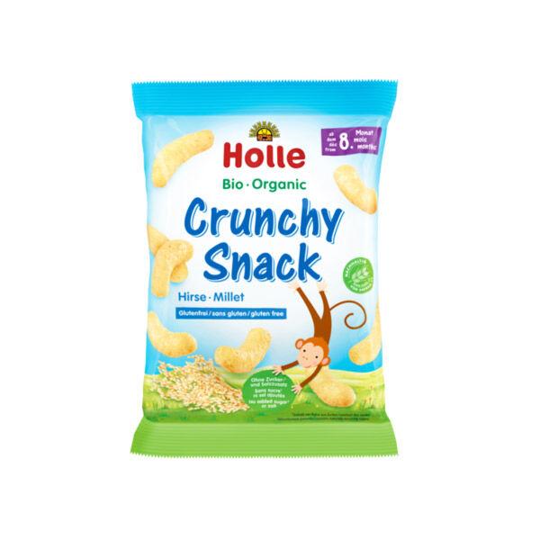 Holle Crunchy Snack Millet sans Gluten +8m 25g