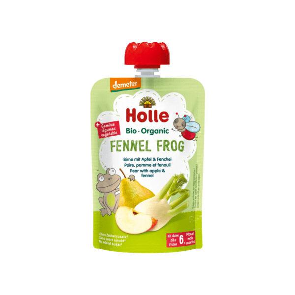 Holle Gourde Poire Pomme Fenouil Bio +6m 100g