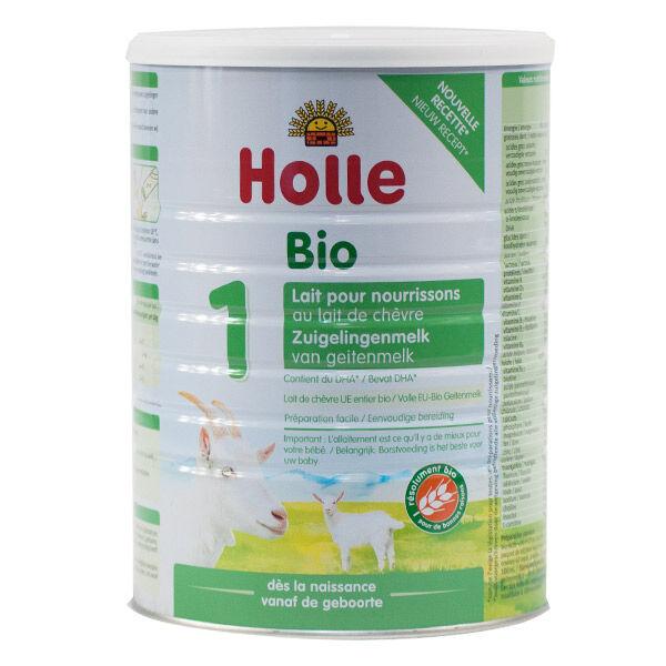 Holle Lait de Chèvre 1 pour Nourrissons Bio 800g