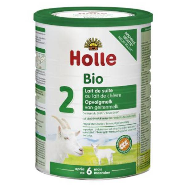 Holle Lait de Suite 2 au Lait de Chèvre Après 6 mois Bio 800g