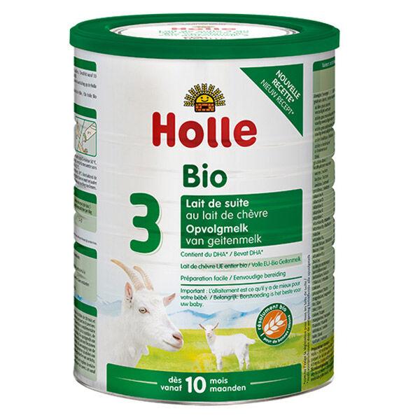 Holle Lait de Suite de Chèvre 3 Bio +10m 800g