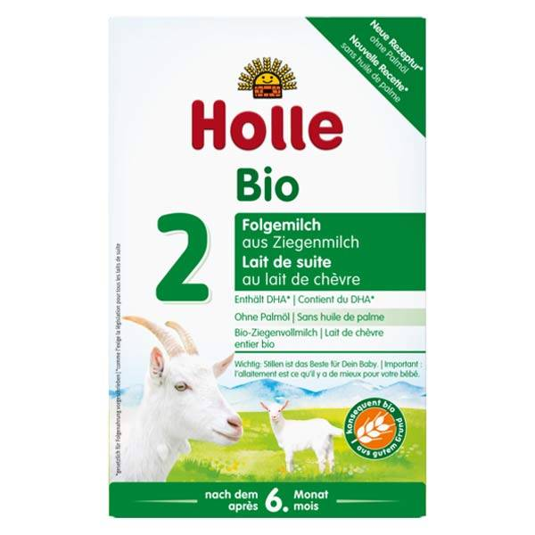 Holle Lait de Suite 2ème Age au Lait de Chèvre Bio 400g