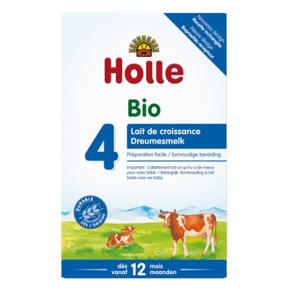 Holle Lait de Croissance 4 Bio +12m 600g