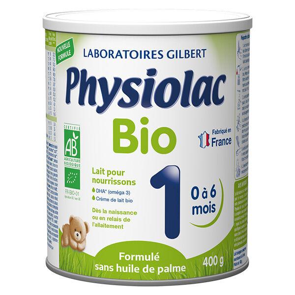 Physiolac Bio Lait 1er Age 400g