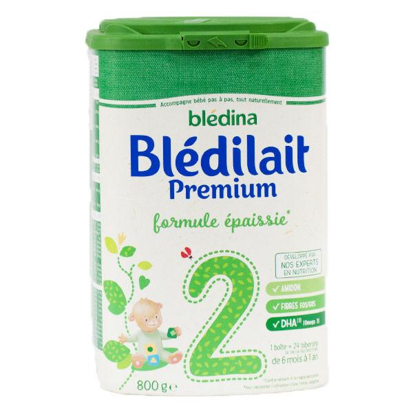 Blédina Bledilait Premium 2ème âge 800g