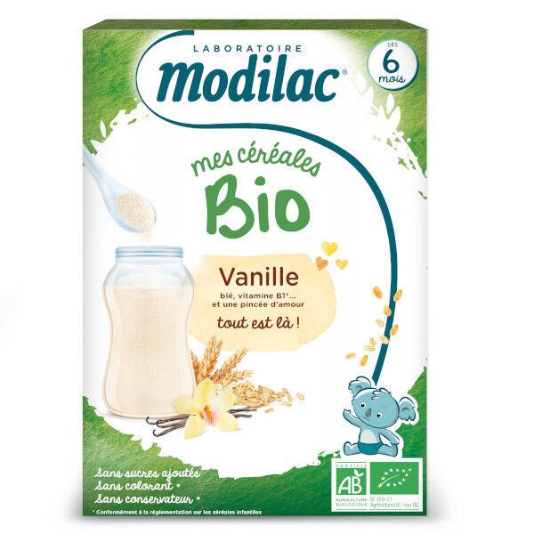 Modilac Mes Céréales Bio Vanille Dès 6 mois 250g