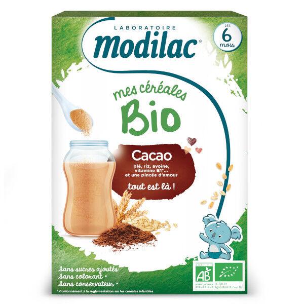 Modilac Mes Céréales Bio Cacao Dès 6 mois 250g