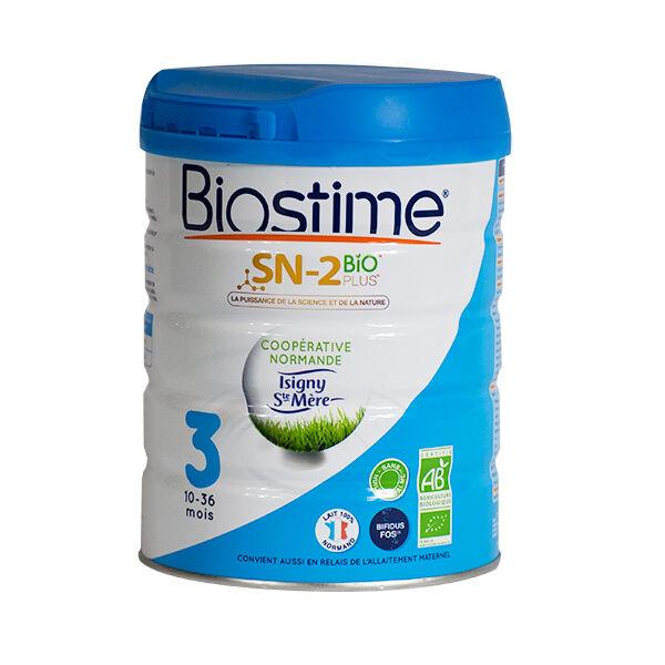 Dodie Biostime Lait 3 Bio 10-36m 800g