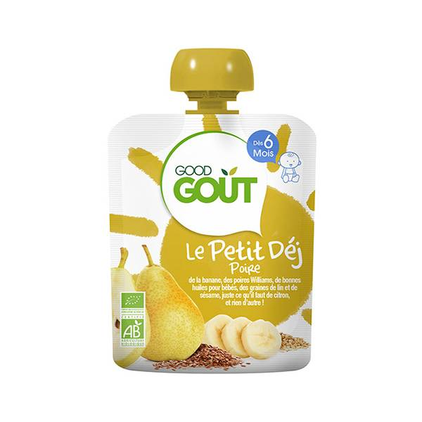 Good Goût Petit Déjeuner Poire dès 6m 70g