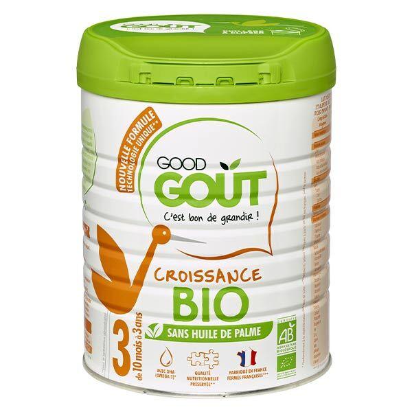 Good Goût Lait de Croissance 3ème Âge Bio 800g