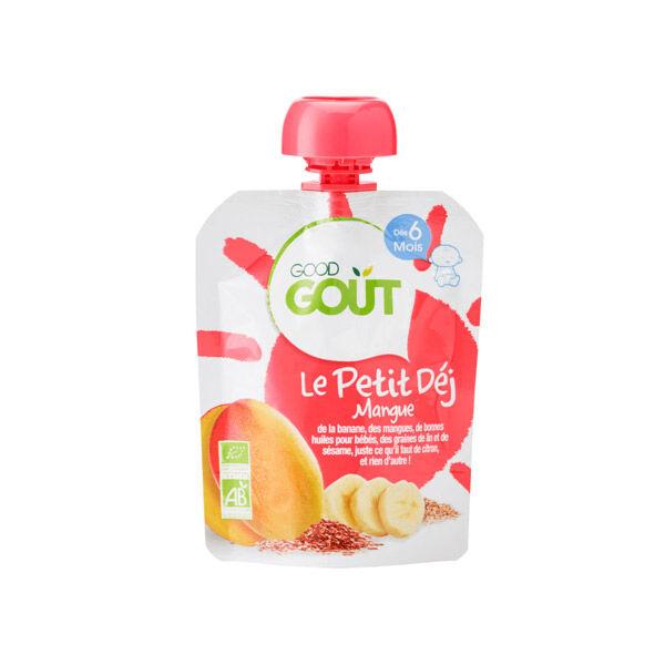 Good Gout Good Goût Petit Déjeuner Mangue +6m 70g